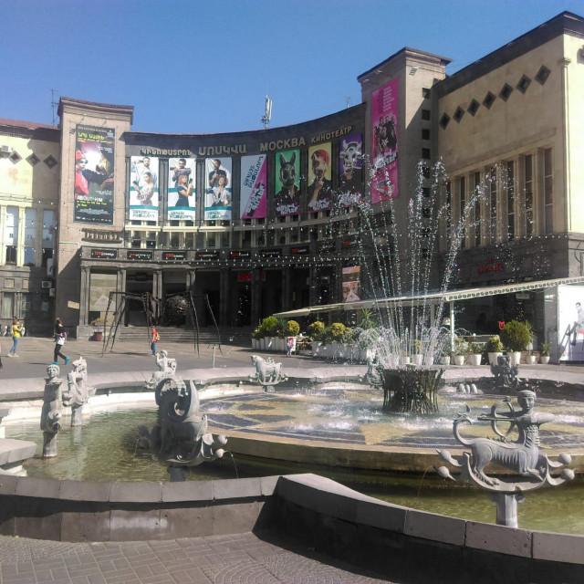 Kino Moskva u središtu Erevana. Razlaz s bivšim Sovjetskim Savezom nije bio traumatičan