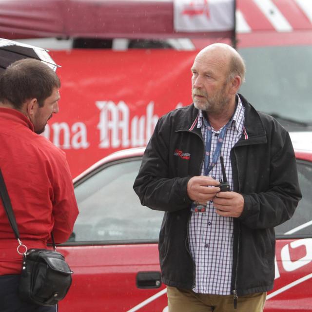 Dubravko Čikor, predsjednik Auto kluba Dubrovnik Racing foto: Tonči Vlašić