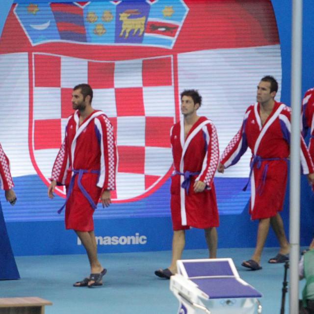 Hrvatska vaterpolska reprezentacija na Olimpijskim igrama u Rio de Janeiru 2016. giodine foto: Tonči Vlašić