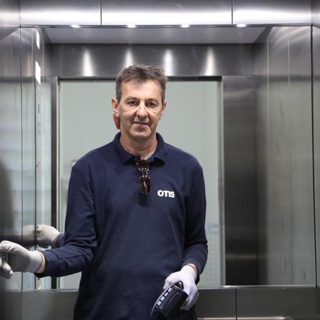 Serviser liftova Ivo Koštro