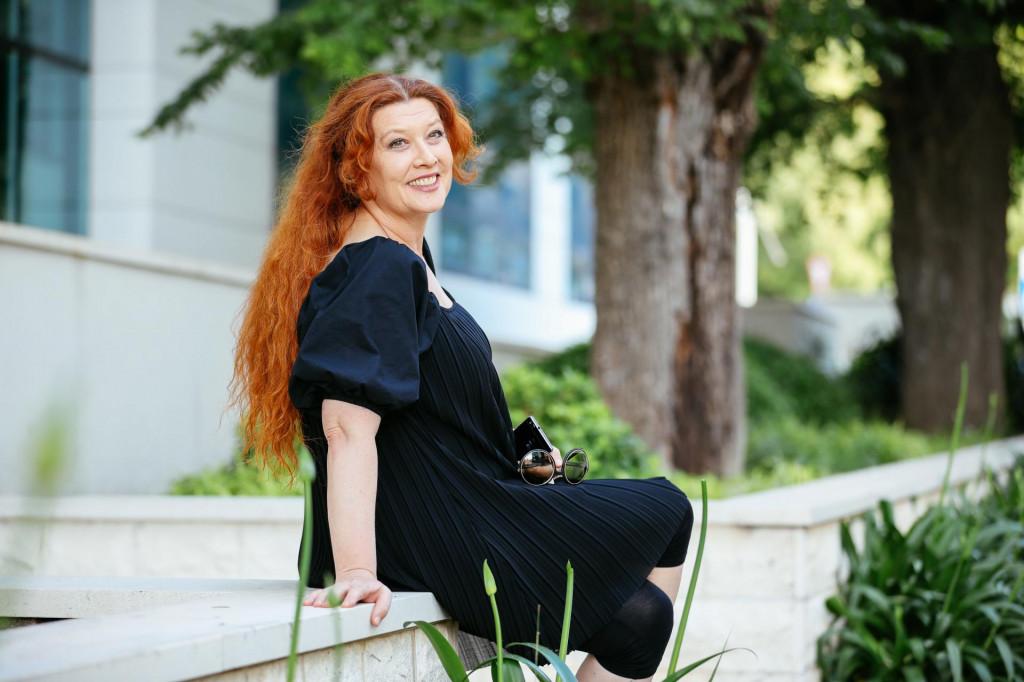Članica ansambla i bivša ravnateljica Kazališta Marina Držića Jasna Jukić