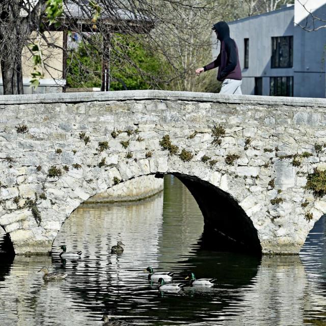 Most preko Jadra, jedna od solinskih znamenitosti