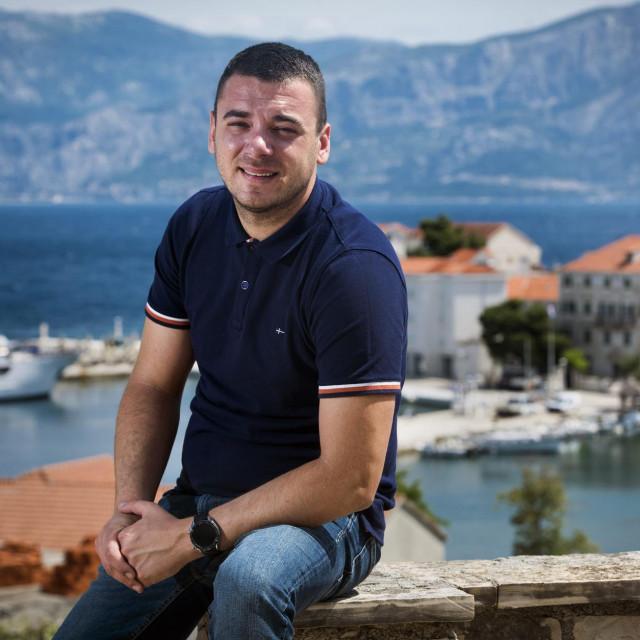 Siniša Marović, načelnik općine Postira