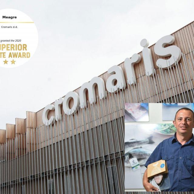 Cromarisovi proizvodi dobili najviše svjetsko priznanje za kvalitetu; Na slici: direktor Markulin