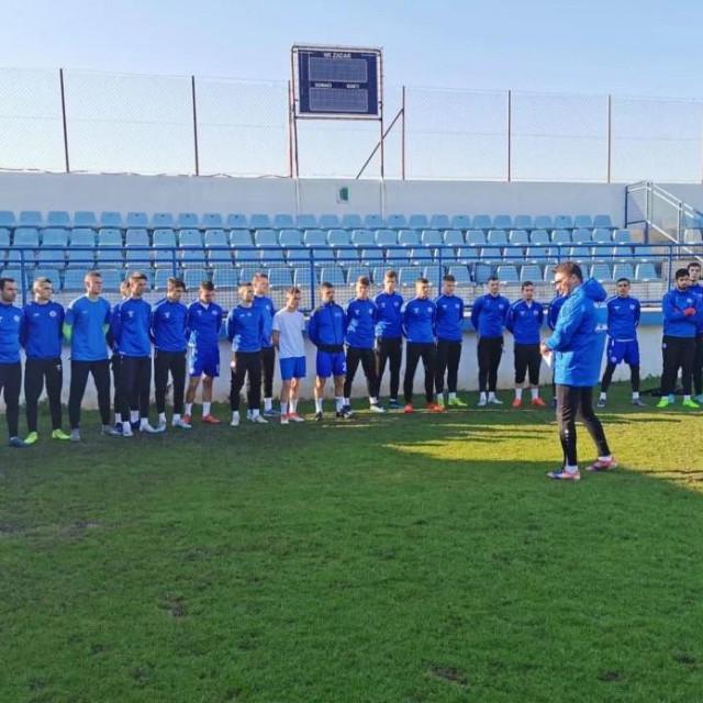 NK Zadar - nogometaši konačno treniraju