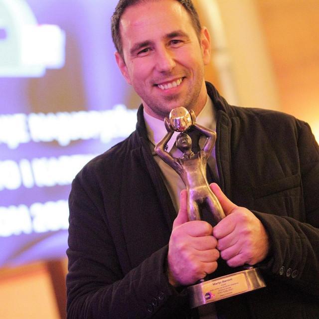 Marijo Barović je 2017. osvojio Zlatnu kacigu te nagradu za najuspješnijeg vozača sezone HAKS-a foto: Tonči Vlašić