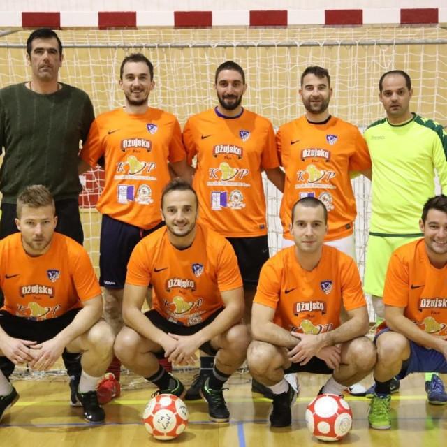 MNK Cavtat, prvak Županijske malonogometne lige u sezoni 2019./20. foto: Božo Radić / HANZA Media