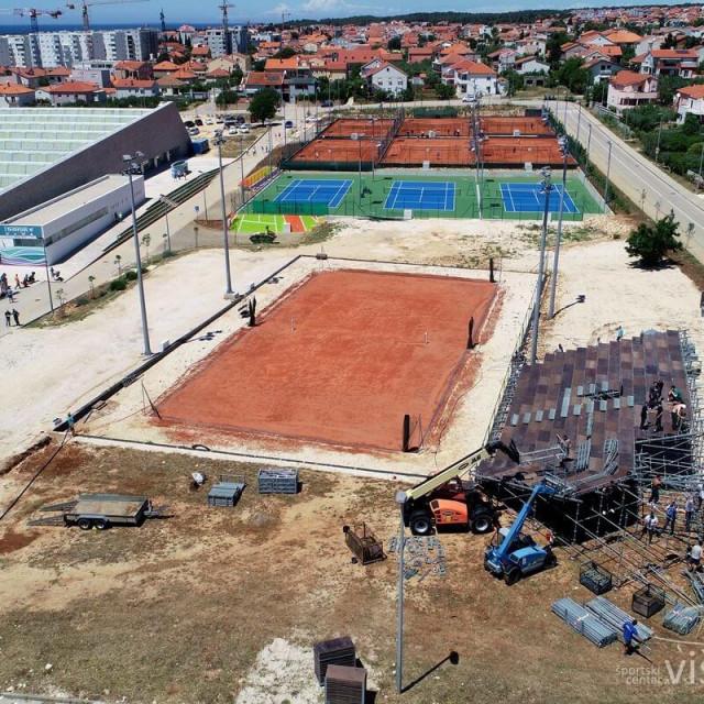 Teniski spektakl na Višnjiku