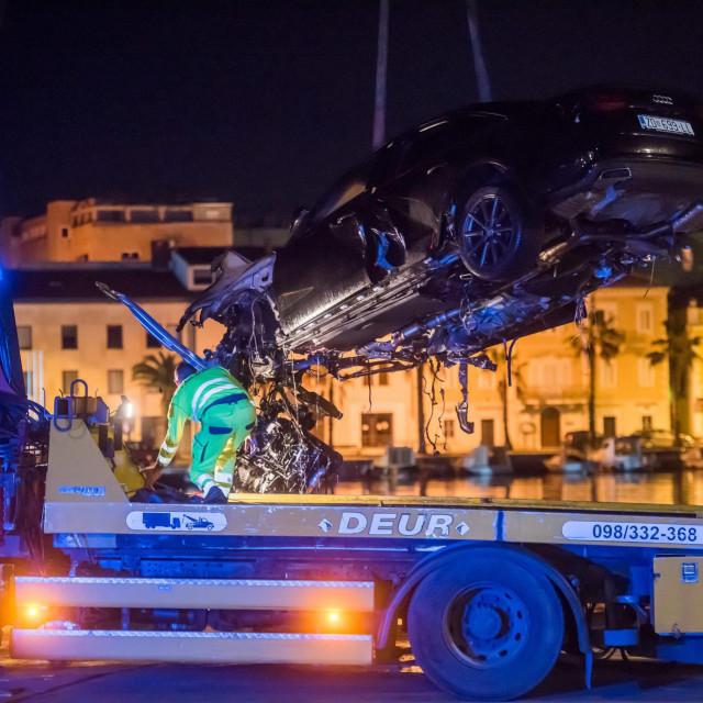 Pri izljetanju automobila sa prometnice na Liburnskoj obali u more, smrtno je stradalo čak troje mladih Zadranina.
