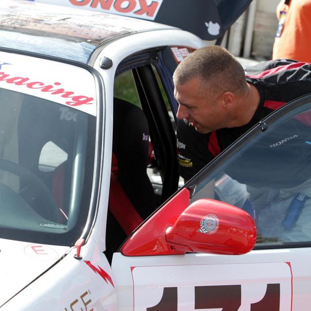 Đivo Franić (Dubrovnik Racing) foto: Tonči Vlašić