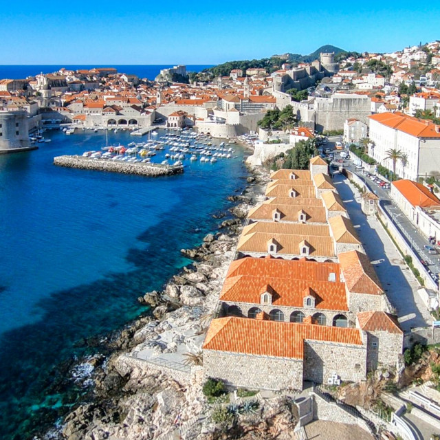 Lazareti, Grad Dubrovnik, panorama