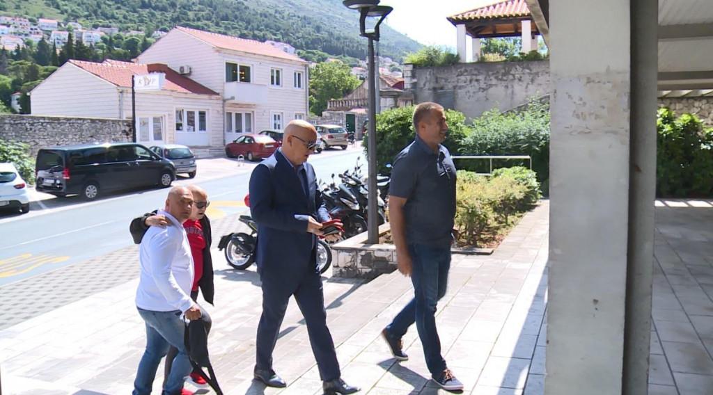 Kristić, Žuvela, Sentić, Milojević - okrivljeni po privatnoj tužbi Joze Ostojića