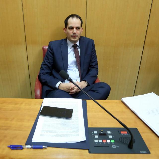 Ministar uprave Ivan Malenica<br />