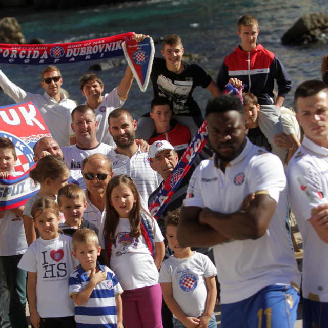 Sa snimanja kalendara Hajduka za 2017. godinu u Dubrovniku