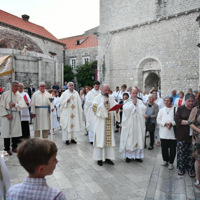 Blagdan Tijelova u Dubrovniku