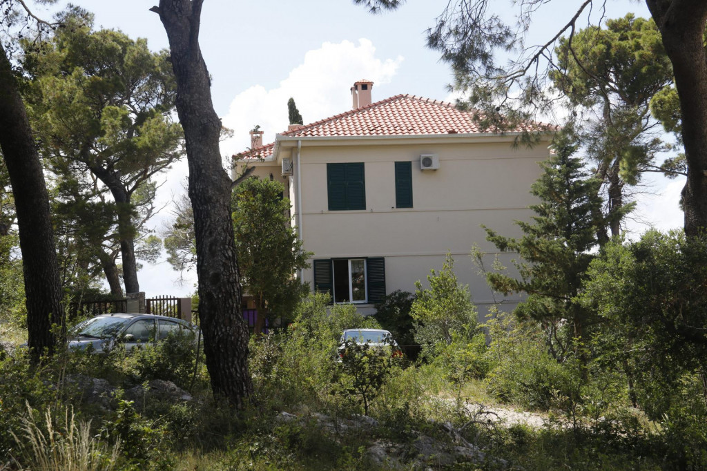 Kuća na Šetalistu fra Jure Radića odakle se čula pucnjava
