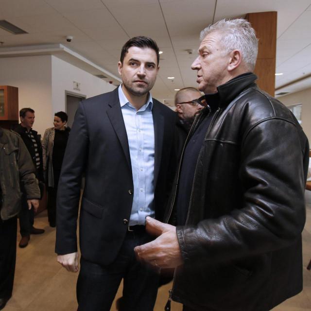 Ima slike, nema tona - Davor Bernardić i Ranko Ostojić