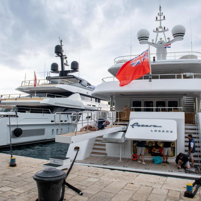 Gruška luka je 'navikla' na luksuzne jahte i celebrityje na njima