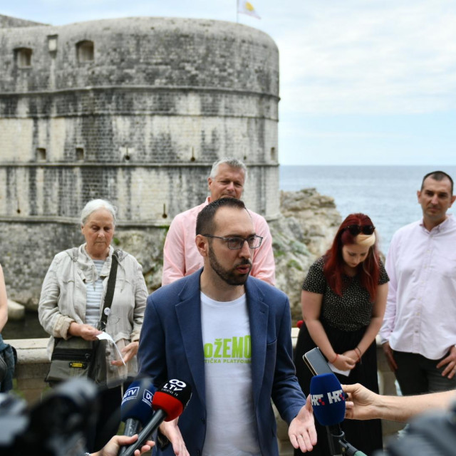 KLGB Srđ je Grad objavila je zajednički nastup na platformi 'Možemo' na predstojećim parlamentarnim izborima<br />
