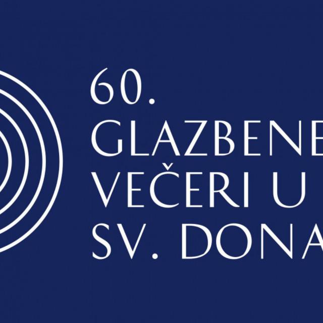 Novi logo Glazbenih večeri u Sv. Donatu