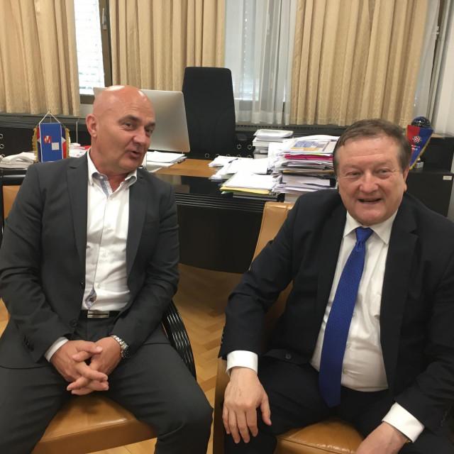 Osječki rektor Vlado Guberac i Damir Boras, rektor Sveučilišta u Zagrebu odbacili su sve kritike iz MZO