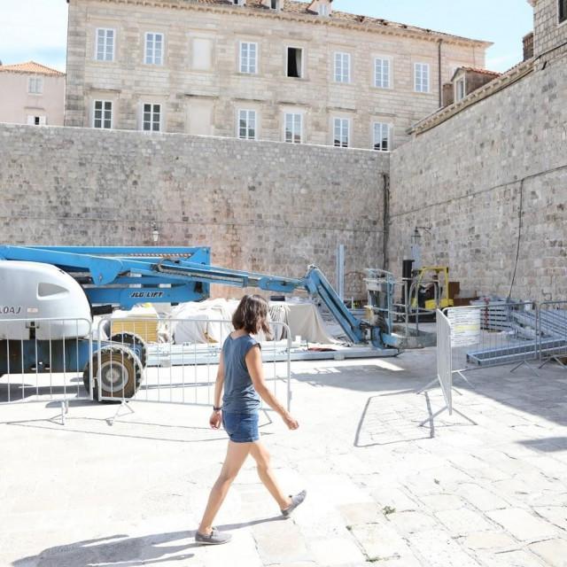 Maro Hajdarhodžić nastavlja s radovima na javnoj površini kod Peskarije