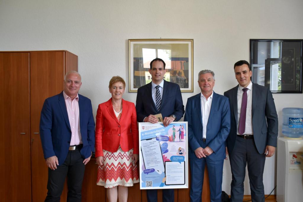 Ministar Malenica predstavio uslugu e-novorođenče u Šibeniku