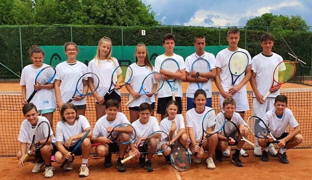 Finale kvalifikacija za državno ekipno do 14 godina na terenima Tenis kluba Ogulin: Ogulin - Ragusa