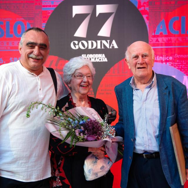 Srećko Šestan i Abdulah Seferović sa suprugom<br />