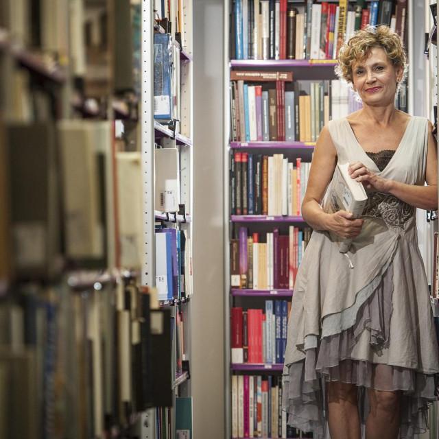 Aktualna ravnateljica splitske biblioteke Grozdana Ribičić godinama je radila upravo na Dječjem odjelu