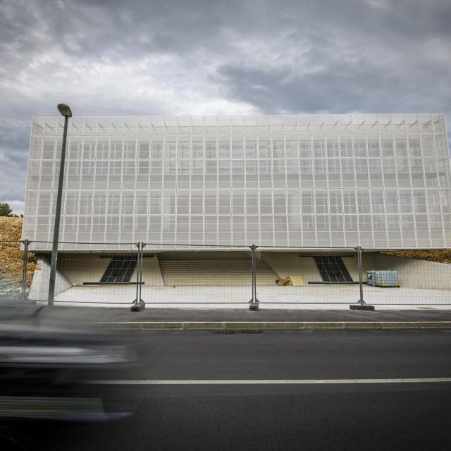 Novo izgradjena zgrada Trokut u kojoj ce biti Centar za poduzetnistvo i nove tehnologije