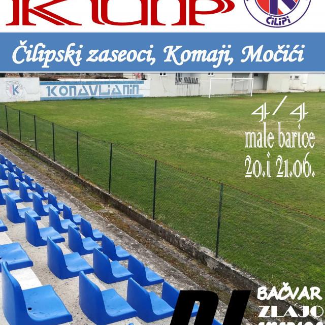 Konavljanin kup 2020. - nogometni turnir na male bare