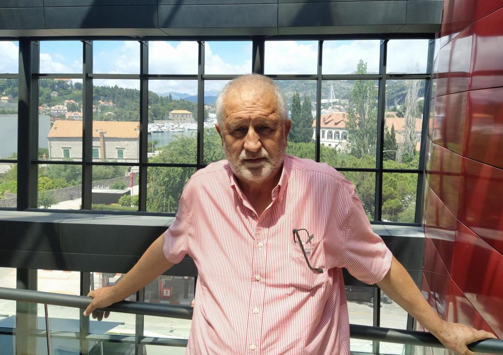Pero Vićan, predsjednik Dubrovačkog demokratskog sabora