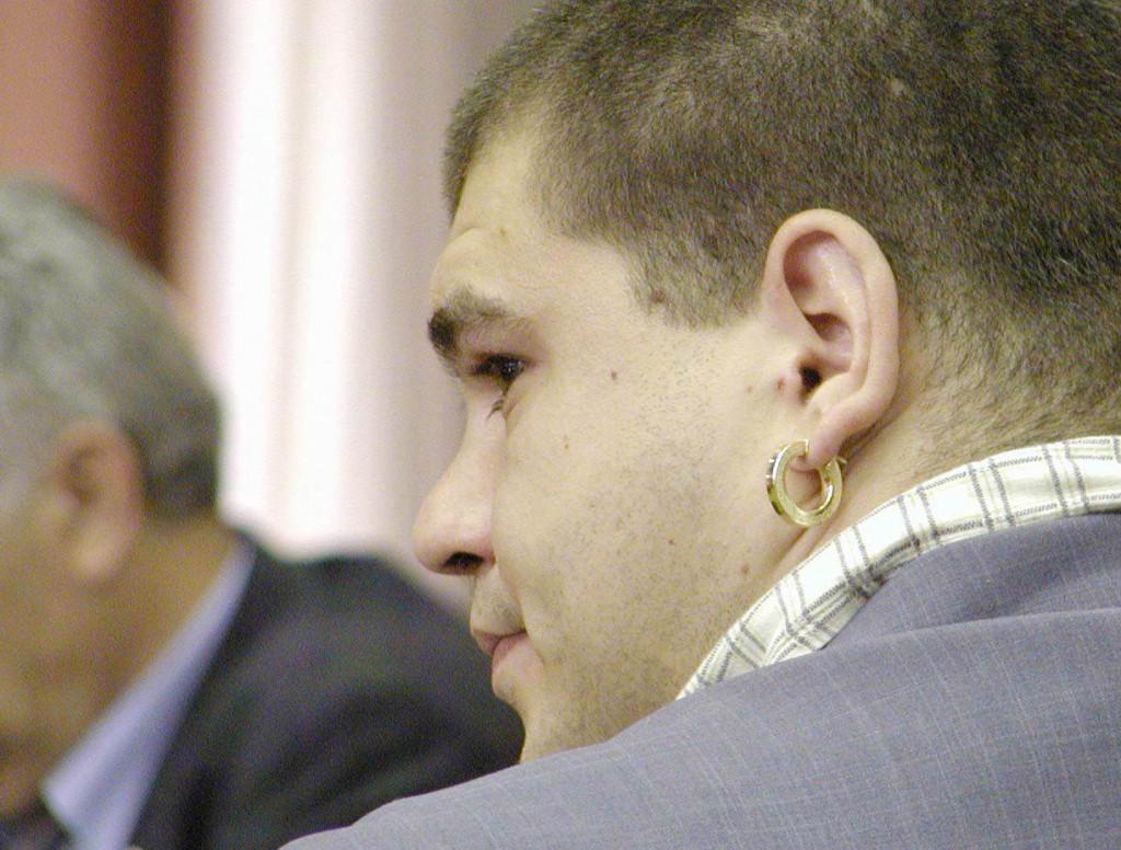 Igor Dokić na jednom od suđenja za dilanje otprije 15 godina