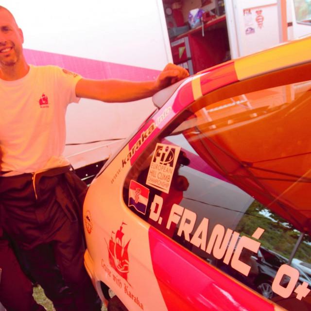 14. Nagrada Grada Skradina, prva brdska auto utrka prvenstva Hrvatske 2020. godine foto: Tonči Vlašić