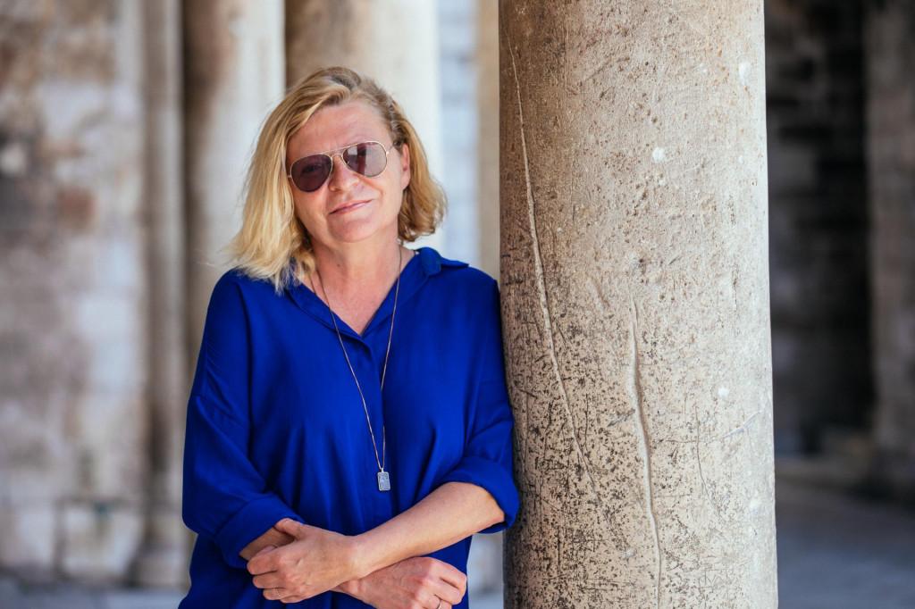 Željka Ogresta, novinarka, tv voditeljica i producentica
