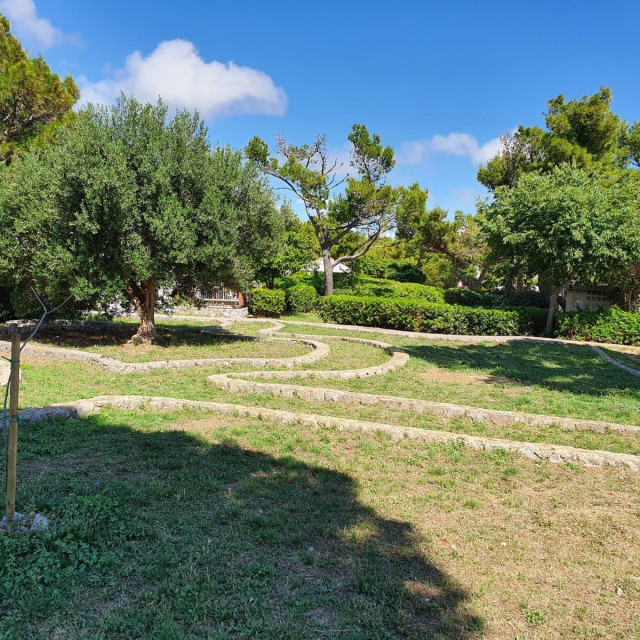 Park na Gorici u Dubrovniku