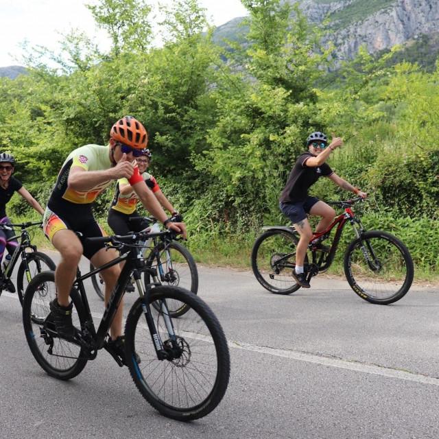 Konavoska biciklijada ponovno je privukla brojne rekreativce