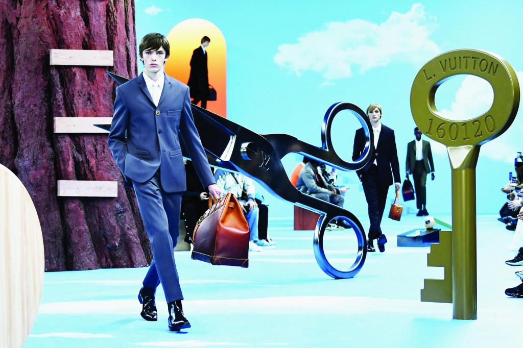 Louis Vuitton, men's Fall/Winter 2020/2021 collection