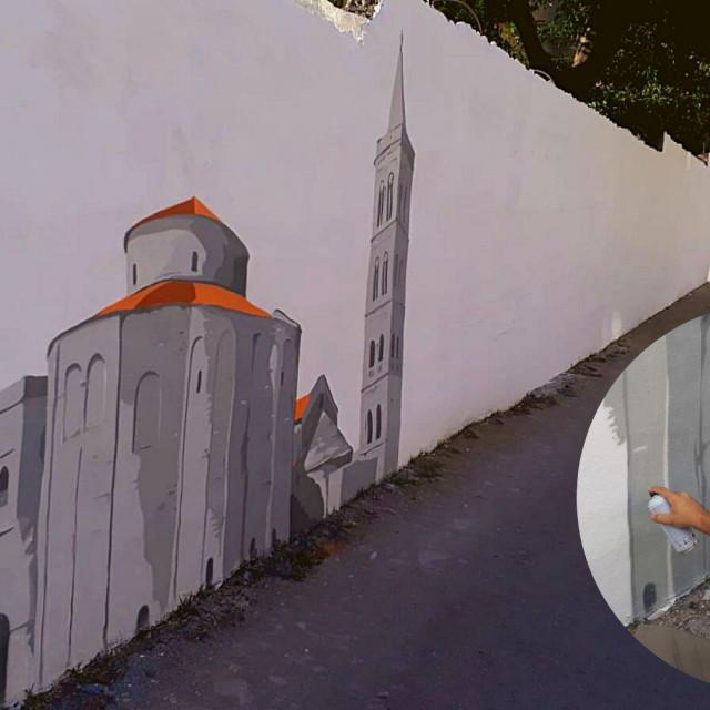Jure Lisak oslikat će novi veliki mural u Velebitskoj ulici