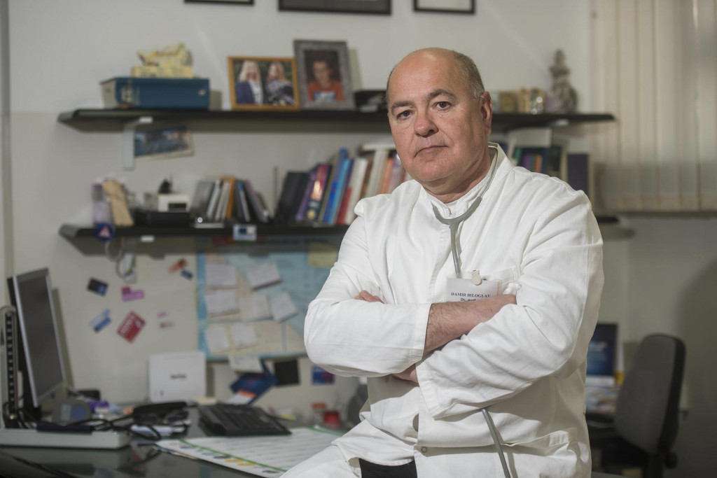 Damir Biloglav je liječnik obiteljske prakse u Zadru<br />