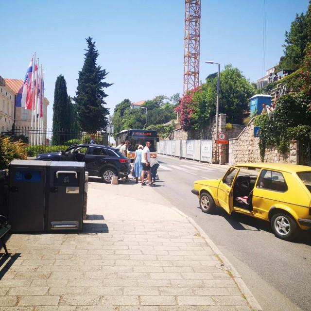 Prometna nesreća pokraj kampusa Sveučilišta u Dubrovniku