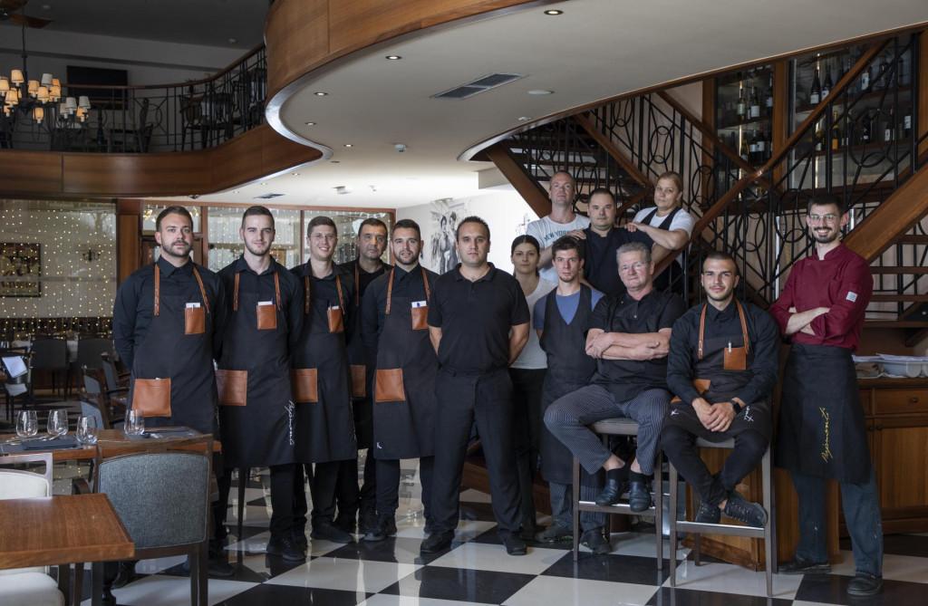 Ekipa restorana Bajamonti