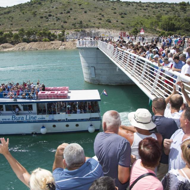 Prije točno dvije godine Trogirani su slavili otvaranje drugog čiovskog mosta<br />