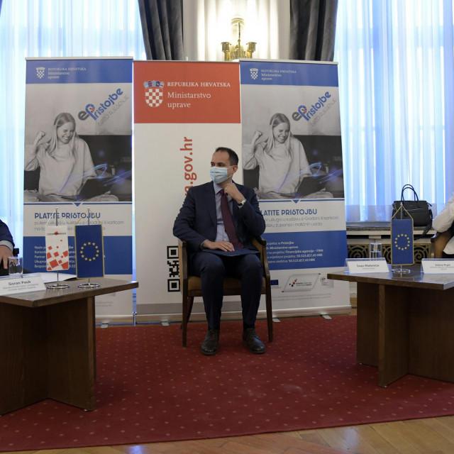 Ministarstvo uprave RH predstavilo je na konferenciji za medije sustav e-Pristojbe