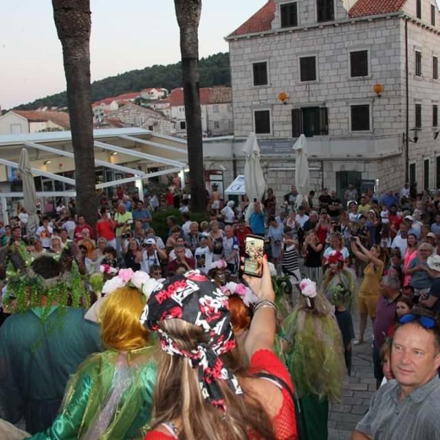 pola Nove godine u Korčuli