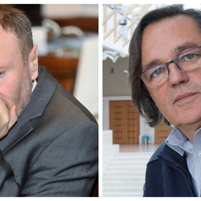 Lovrinčević (lijevo) i Garača smatraju da će kriza potrajati duže nego propisane državne mjere potpora