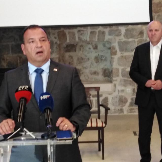 u prostoru Lazareta je održana tematska press- konferencija povodom obilježavanja Međunarodnog dana borbe protiv zlouporabe droga