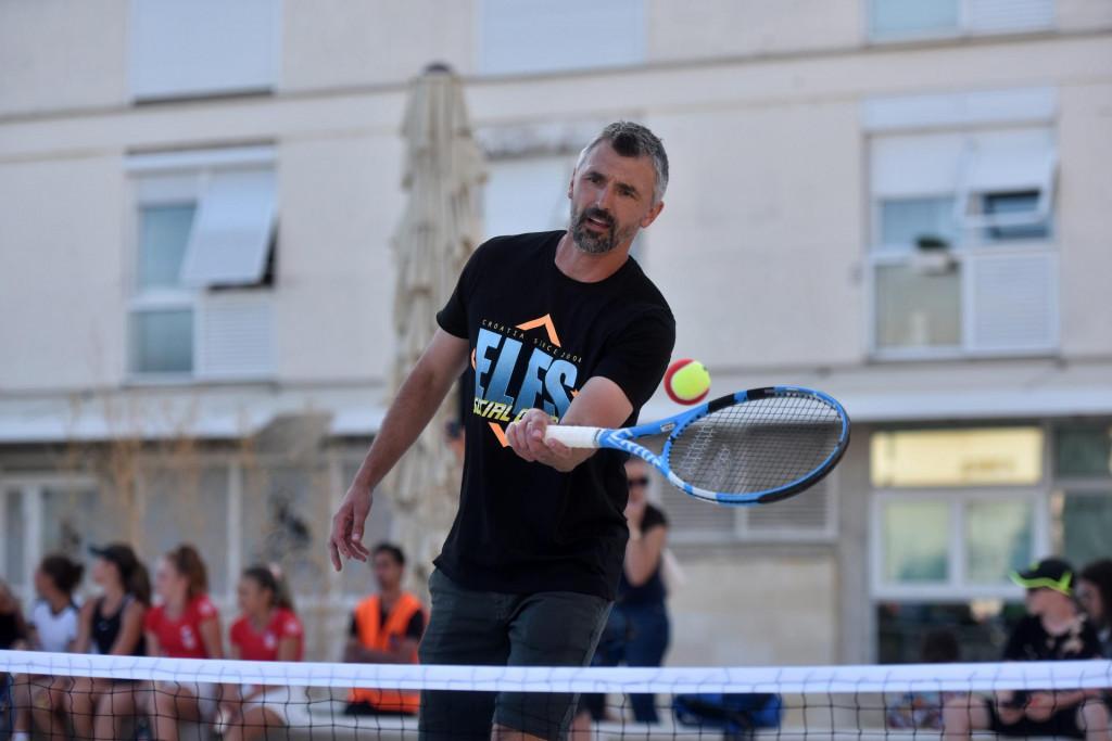 Goran Ivanišević na prošlotjednom Adria Touru<br />