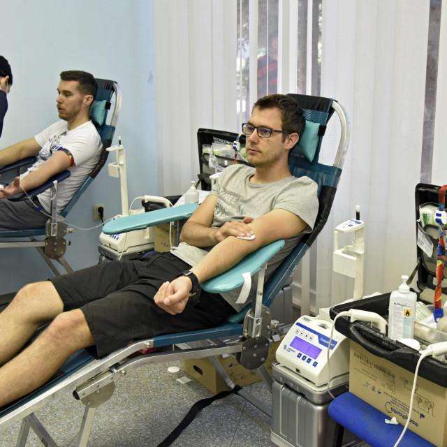 Akcija darivanja krvi u kotaru Lokve<br />